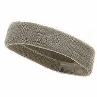 Headband (terry)-Lt Grey W15S25C