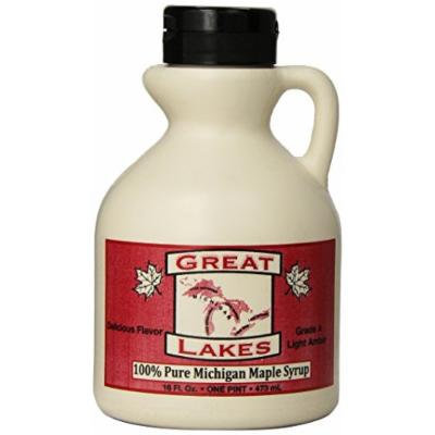 Great Lakes 100% Pure Michigan Maple Syrup, 16 Ounce