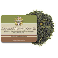 Long Island Strawberry Green Tea - Loose Leaf - 16oz