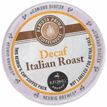 Barista Prima Coffee, Italian Roast Decaf, K-Cup Portion Pack for Keurig Brewers, 24-Count (Pack of 2)