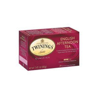 Twinings English Afternoon Tea, 20 Tea Bags