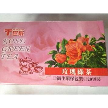 Tradition Tea, Rose Green Tea, 20 bag Units (Pack of 6)