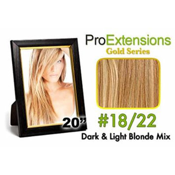 ProExtensions #24/27 Light Blonde w/Dark Blonde Highlights Pro Cute - Gold Series