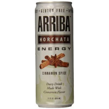 Arriba Horchata Original Energy Drink, 11 Ounce (Pack of 12)