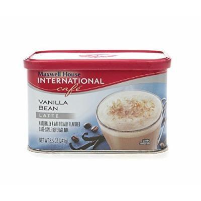 Maxwell House International Cafe Hot Latte Cafe-Style Beverage Mix, Vanilla Bean Latte 8.5 oz (241 g)