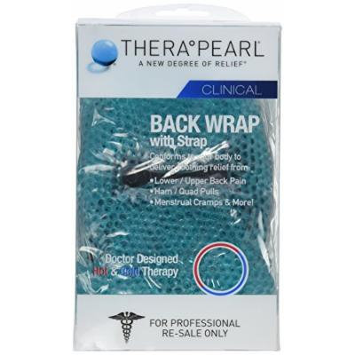TheraPearl Hot/Cold Back Wrap with Strap