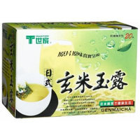 Tradition Tea, Genmaicha Tea, 20-Count Boxes (Pack of 6)