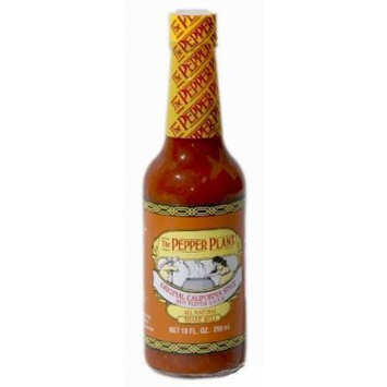 The Pepper Plant Original California Style Hot Pepper Sauce 10 Fl. Oz. (Case of 12)