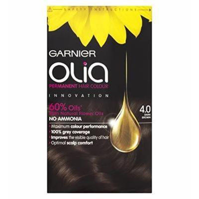 Garnier Olia Permanent Hair Colour 4.0 Dark Brown