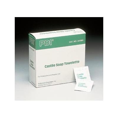 PDI Castile Soap Towelette 100/box (3 Pack) (3)