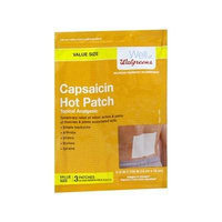 Walgreens Capsaicin Hot Patches Topical Analgesic 3 ea