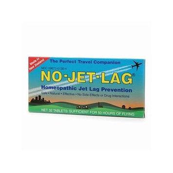 No-Jet-Lag Homeopathic Jet Lag Prevention Tablets 32 ea