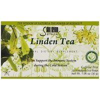 Salem Botanicals Herbal Tea, Linden Tea, 20 Count 1.06 oz