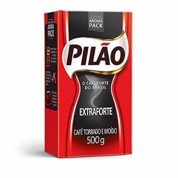 Cafe Pilao Extraforte Extra Strong Coffee 500gr 6 Pack