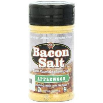 J&D's Bacon Salt, Applewood, 2.5 Ounce