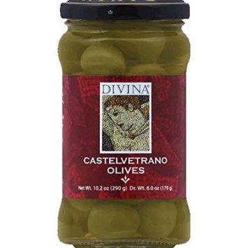 Divina Castelvetrano Olives 10.2 Oz (Pack Of 6)