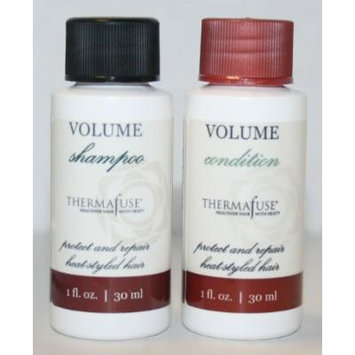 ThermaFuse VOLUME Shampoo & Condinioner Duo Travel Size 1 fl oz each