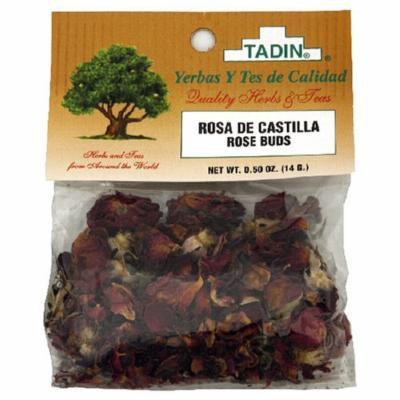 Tadin Herbs & Tea, Rosa De Castilla Rose Buds), 0.5-Ounce Cellophane Bags (Pack of 4)