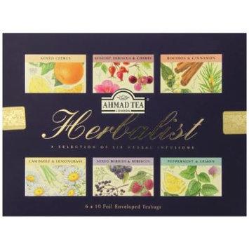 Ahmad Tea Herbalist Teabags, 60 Count