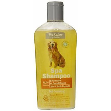 Petkin Spa Shampoo Itch Soothing, 8.4-Ounce Bottle (Pack of 6)