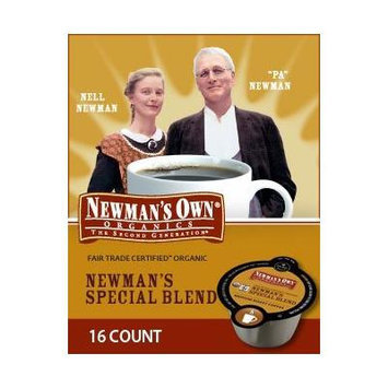 80 Count, Newman's Special Blend Extra Bold Coffee For Keurig Vue Brewers (5 - 16 ct VUE Packs)