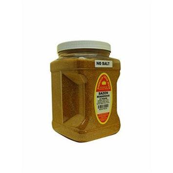 Marshalls Creek Spices Family Size Sazon with Annatto No Salt Seasoning, 44 Ounce