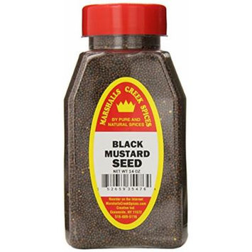 Marshalls Creek Spices Mustard Seed Black, 14 Ounce