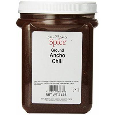 Colorado Spice Chili Pepper, Ancho Ground, 32-Ounce Jar