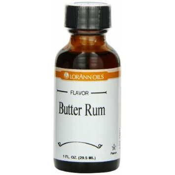 LorAnn Oils Flavor Extract, Butter Rum, 1 Ounce