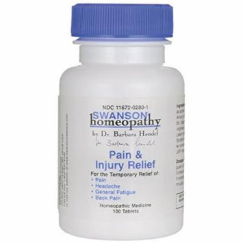 Swanson Pain & Injury Relief 100 Tabs