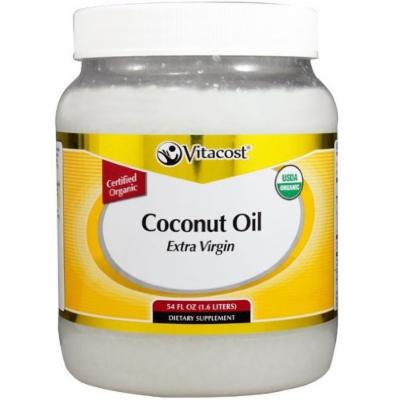Vitacost Extra Virgin Certified Organic Coconut Oil 16 Oz