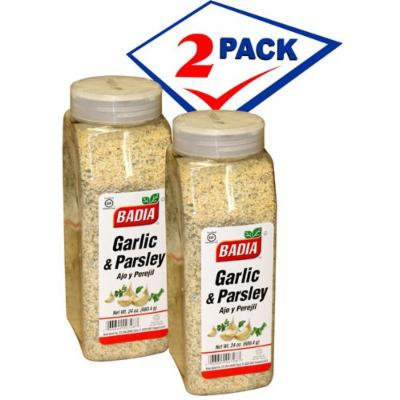 Badia Garlic and Parsley. 24 oz container.Pack of 2