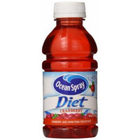 Ocean Spray Diet Cranberry Juice Drink, 10 Ounce Bottles, 6 Count