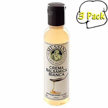 Italian Natural Flavored White Balsamic Glaze, 5.1 Ounces, 3 Per Case
