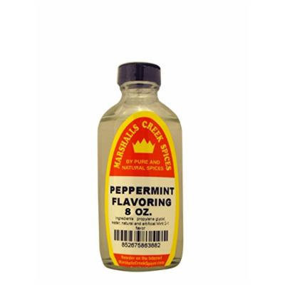 Marshalls Creek Spices Flavoring, Peppermint, 8 Ounce