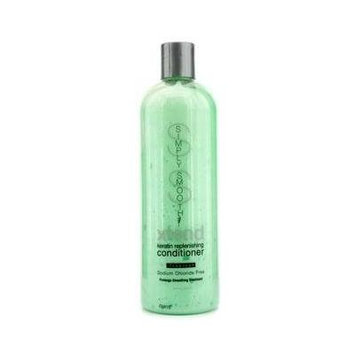 SIMPLY SMOOTH by XTEND KERATIN REPLENISHING CONDITIONER TROPICAL - No SODIUM CHLORIDE 16 Ounces