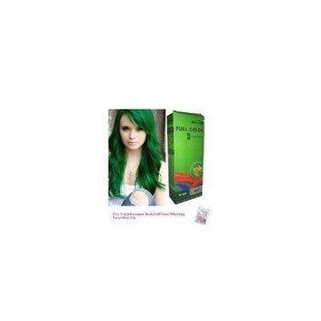 Special Sets : Premium Permanent Hair Color Cream Dye Goth Cosplay Emo Punk 0/22 Green