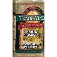 8oz Trade Winds Poultry Seasoning Specialty Blend for Chicken Pork Lamb Fish (One Bottle)