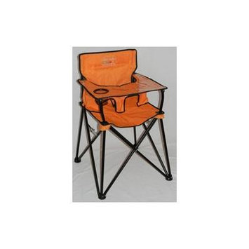 Portable Travel High Chair - Color: Orange