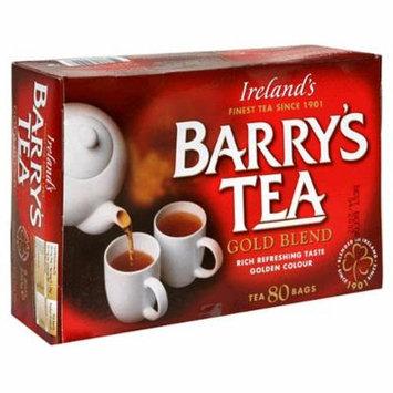 Barry's Tea Gold Blend, 80-Tea Bag Boxes (Pack of 6)