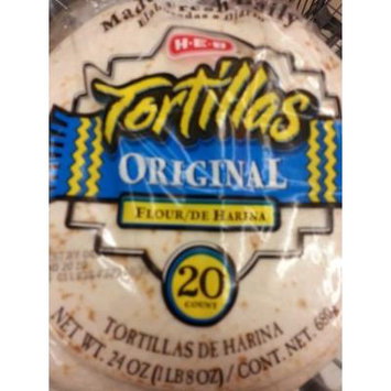 HEB Flour Tortillas 20ct (Pack of 2)