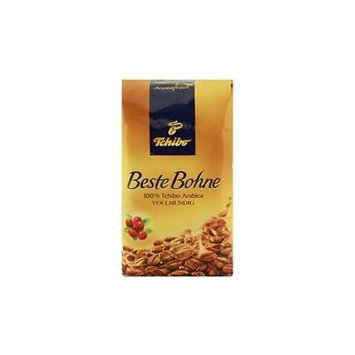 Tchibo Beste Bohne 2 Packs Whole Beans x 17.6oz/500g