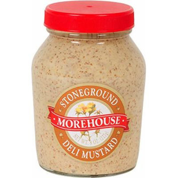 Morehouse Stoneground Deli Mustard - 8 Oz