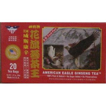 American Eagle Ginseng Tea 20 Tea Bags