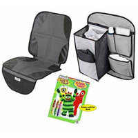 Summer Infant DuoMat Car Seat Protector with Back Seat Organizer
