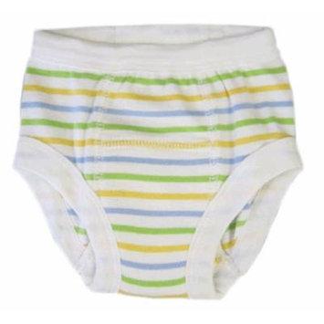 Egyptian Organic Cotton Training Pants, Sherbet Stripe, 12-24 months