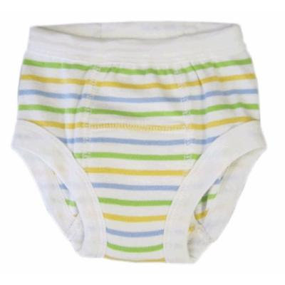 Egyptian Organic Cotton Training Pants, Sherbet Stripe, 12-24 months