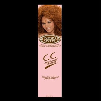 Nene's Secret Curly and Cute Curl Creme, 8 Ounce