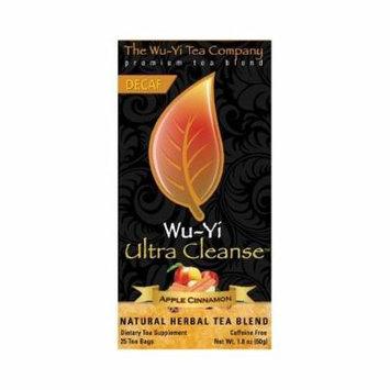 The Wu Yi Tea Company Tea Ultra Clnse Appl Cnnm, 25-Count