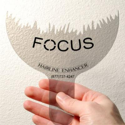Focus Hairline Enhancer (Pack of 3) to Enhance the Natural Appearance of All Brands Hair Building Fibers to Cover Hair Loss and Thinning Hair in the Frontal Areas